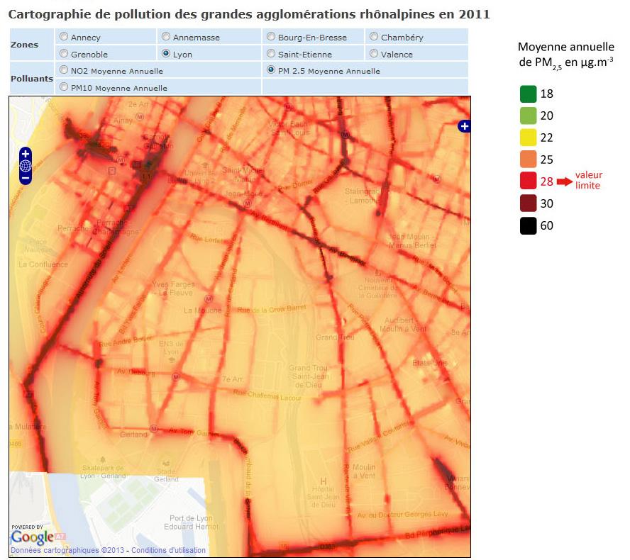 La pollution à Lyon | Comité d'Intérêt Local Gerland Guillotière