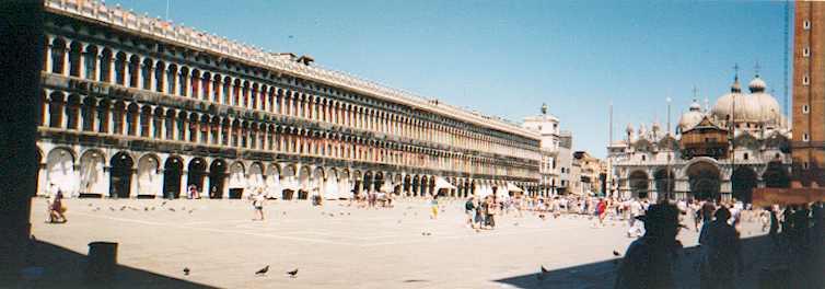 Venise La place St Marc