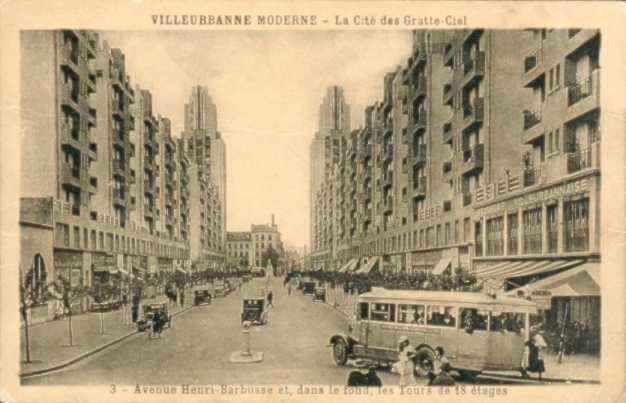 Villeurbanne La cité des gratte-ciel