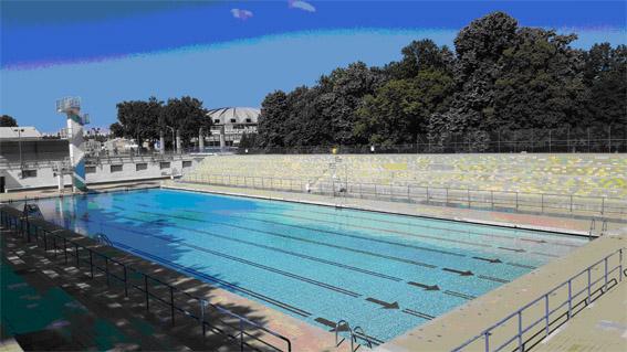 La piscine actuelle de Gerland