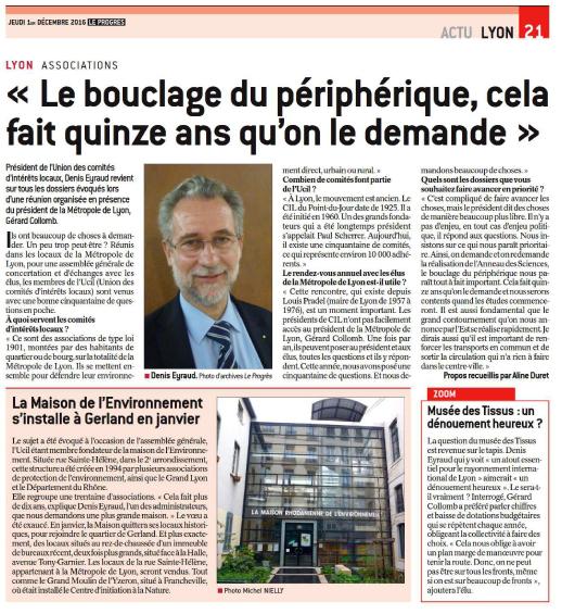 Bouclage du périphérique par Denis Eyraud