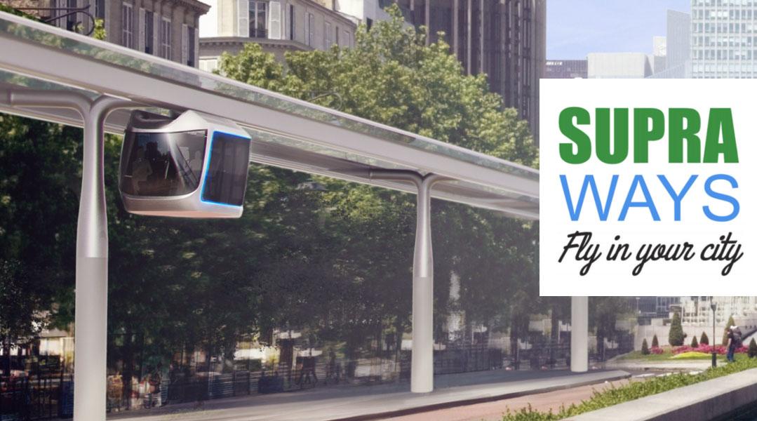 Supraways, le tram des airs